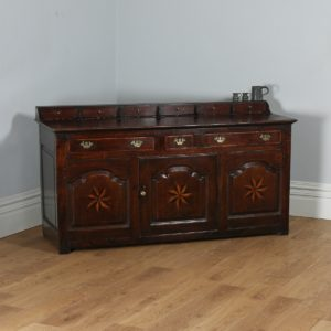 Antique Welsh Machynlleth Georgian Low Dresser Base (Circa 1740) - yolagray.com