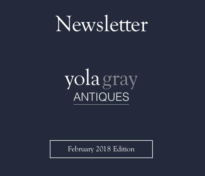 yolagray.com February 2018 Newsletter