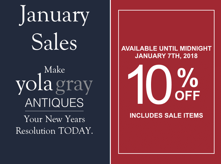 yolagray.com January Sales