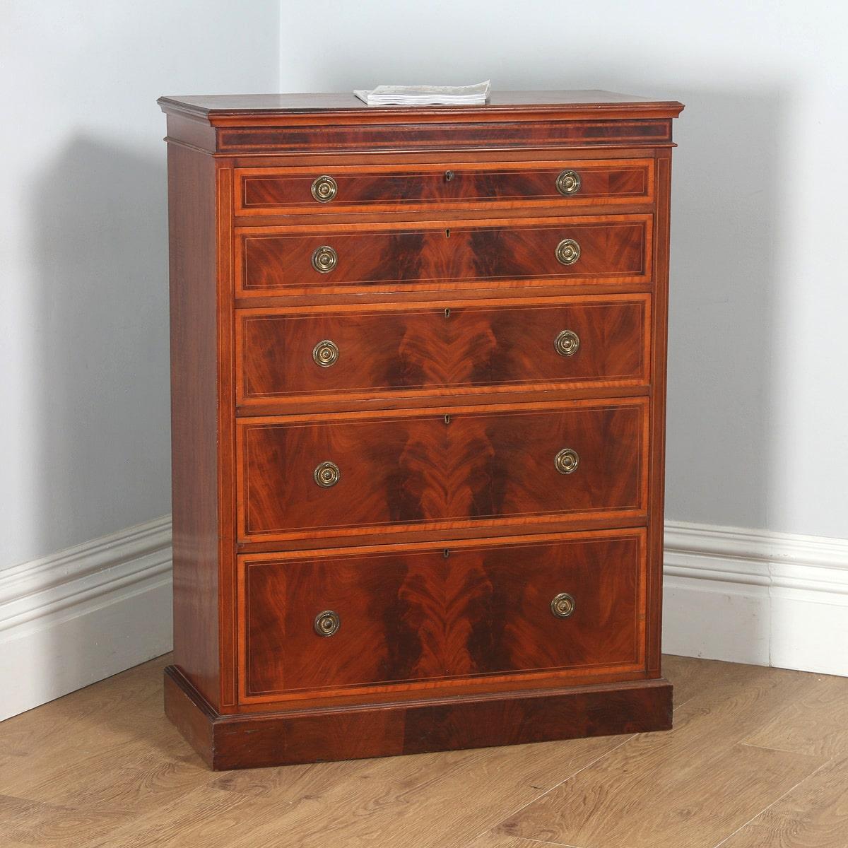 Other Antique Furniture Edwardian (1901-1910) Antique Satinwood Dresser